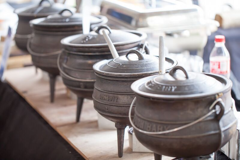 Potjie time with the Noordhoek Farm Village