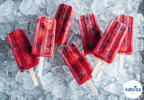 Easy Recipe: Mixed Berry Goat Milk Yogurt Ice Pops