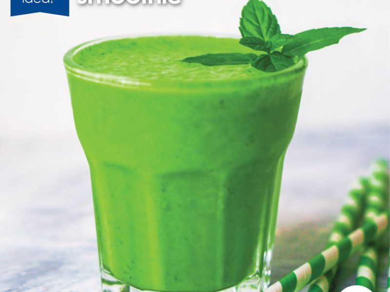 Easy recipe: Green Mango Smoothie