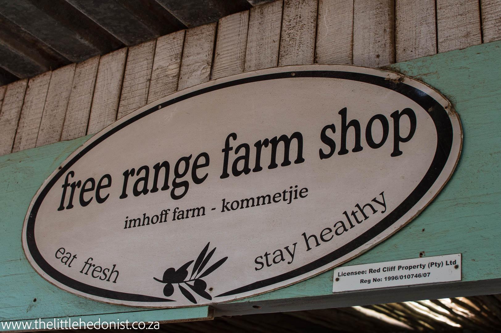 Free Range Coffee Shop: Imhoff Farm