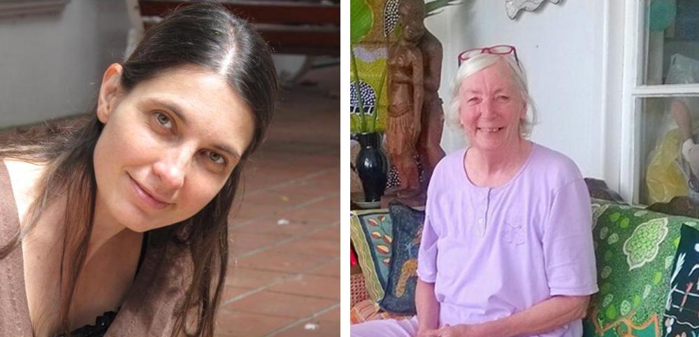 Dr Jana Lazarus and Ms Miranda Wannenburgh
