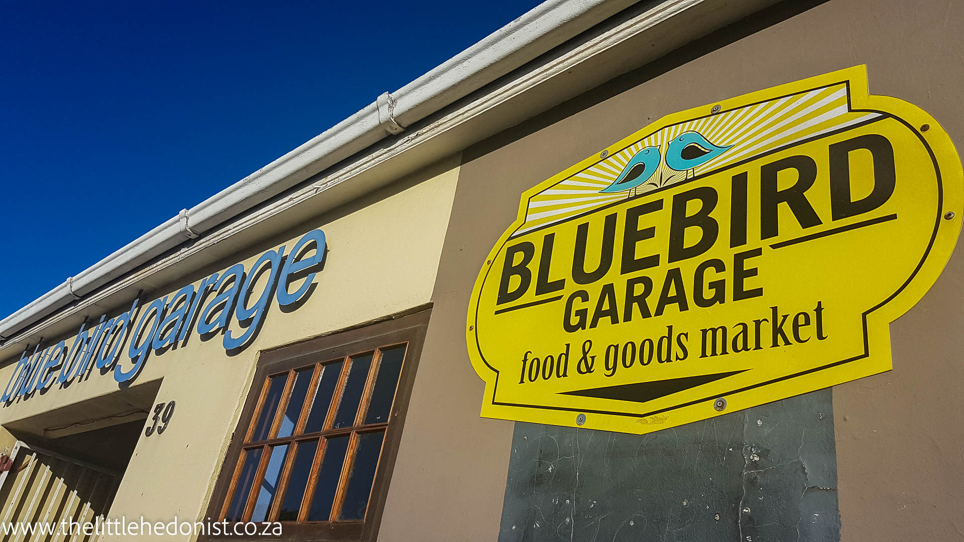 Bluebird Garage Food & Goods Market