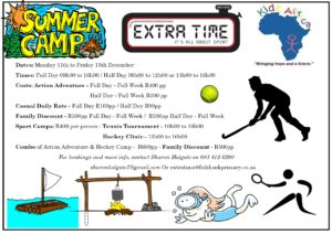 summer holiday camp