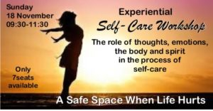 Experiential Self-care workshop
