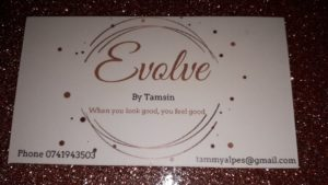 Evolve by Tamsin