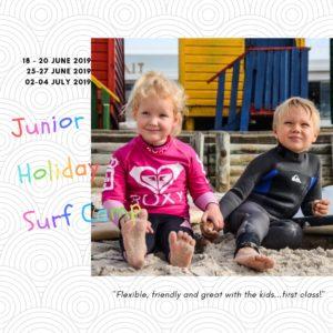 JUNIOR HOLIDAY SURF CAMP: UNDER 10 YRS OLD